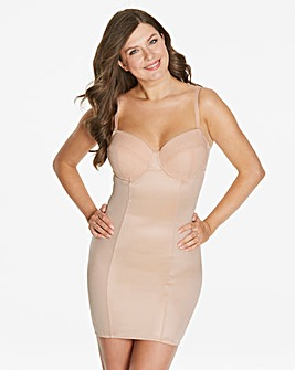 MAGISCULPT Jacquard U/wired Blush Slip