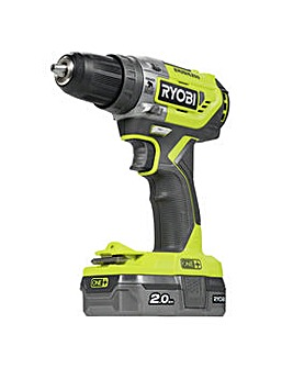 Ryobi Brushless Combi Drill 2Ah Battery & Charger