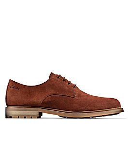 Clarks Foxwell Hall Standard Fitting Shoes