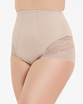 Jacquard Waist Nipper Firm Control Blush
