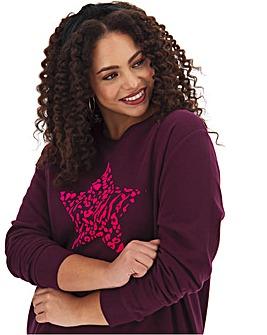 Star Placement Sweatshirt
