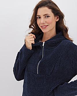 Navy Cuddle Sweatshirt