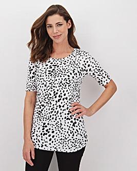 Ivory Animal Value Cotton T Shirt