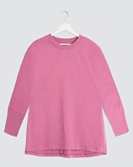 High Neck Long Sleeve T-Shirt
