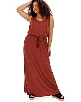 Paprika Vest Maxi Dress