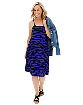 2 Pack Cobalt/Black Cami Dress