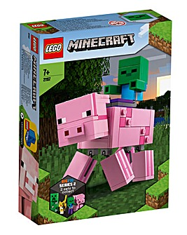 LEGO Minecraft Big Fig Pig & Baby Zombie