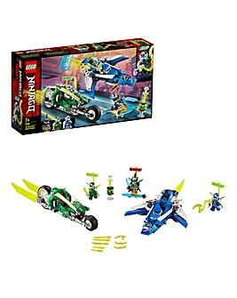 LEGO NINJAGO Jay and Lloyd's Velocity Racers - 71709