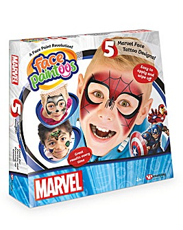 Face Paintoo Marvel