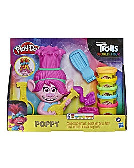 Play-Doh Trolls World Tour Rainbow Hair Poppy Styling