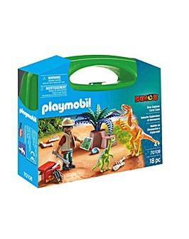 Playmobil 70108 Dino Explorer Carry Case