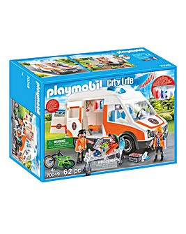 Playmobil 70049 City Life Ambulance