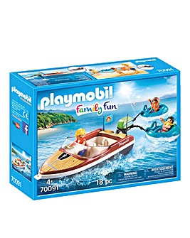 Playmobil 70091 Speedboat & Tube Riders