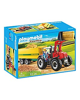 Playmobil 70131 Country Tractor with Feed Trailer