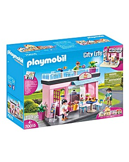 Playmobil 70015 City Life Cafe