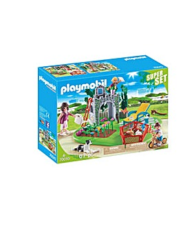 Playmobil 70010 Family Garden