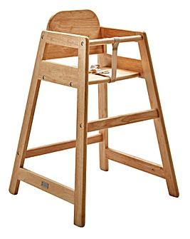 East Coast Wooden Highchair Cafe - Natural