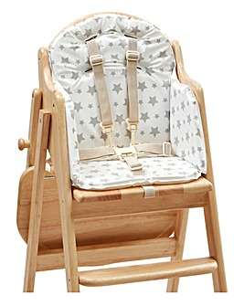 East Coast Highchair Insert - Grey Star