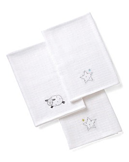 Silvercloud Counting Sheep Muslins