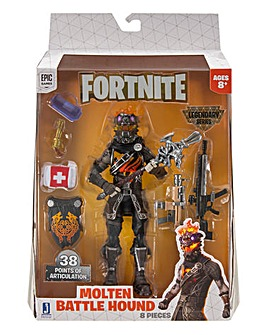 Fortnite Molten Battle Hound S3