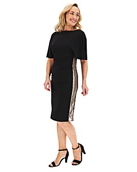 Shape And Sculpt Sequin Trim Dress