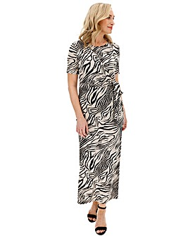 Animal Knot Maxi Dress
