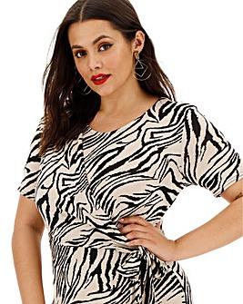 Animal Knot Maxi Dress