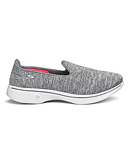 Skechers Go Walk 4 Wide Fit Trainers