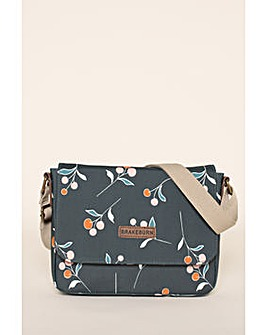 Brakeburn Cherry Saddle Bag