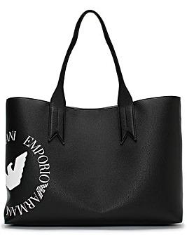 Emporio Armani Eagle Frida Shopper Bag