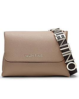 Valentino Bags Alexia Logo Strap Satchel Bag