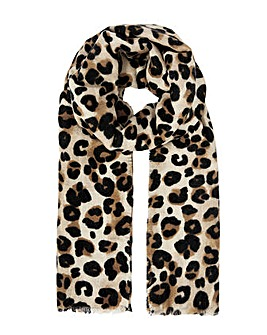 Accessorize Lucille Leopard  Scarf
