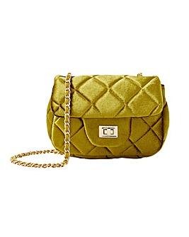 Accessorize Lucy Velvet Cross-Body Bag