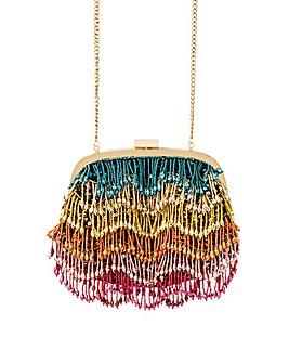 Accessorize Tiana Tassel Frame Bag