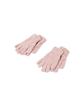 Accessorize Stretch Fluffy Glove Twinset