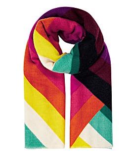 Accessorize Rainbow Blanket Scarf