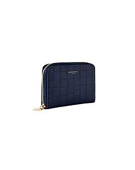 Accessorize Croc Medium Zip Wallet
