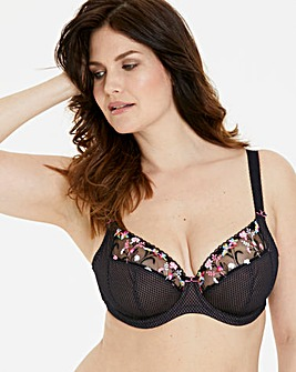 Elomi Charley Black Plunge Wired Bra