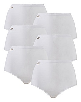 Playtex Cherish 6Pack Maxi Briefs - NEW