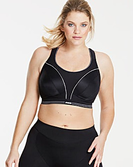 Shock Absorber Black Ultimate Run Bra