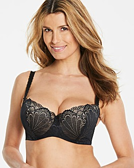 Wonderbra Refined Balcony Bra Black