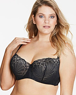 Wonderbra Refined Glamour Balcony Bra Black