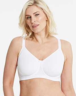 Miss Mary Moulded Cup Wired White Bra