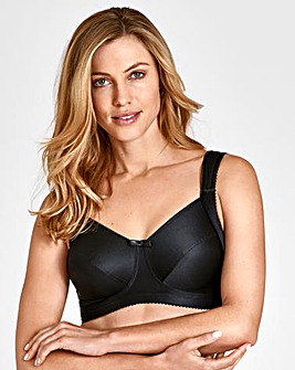Miss Mary Smoothing NonWired Black Bra