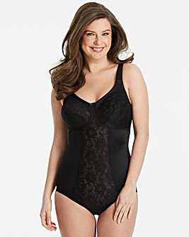 Miss Mary Stretch Lace Black Bodyshaper