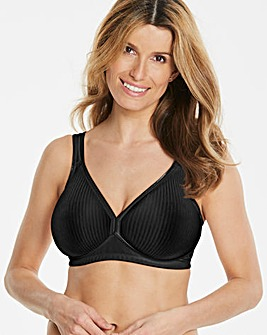 Triumph Modern Non Wired Black Bra