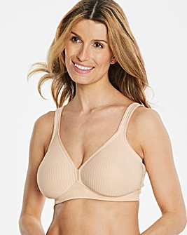 Triumph Modern Cotton Non Wired Nude Bra