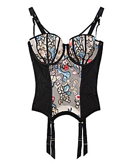 Gabi Fresh Playful Promises Sequinned Embroidered Basque