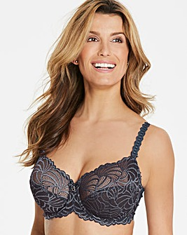 Bestform Pampelune Full Cup Wired Bra Grey