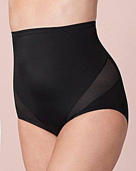 Naomi&Nicole Hi Waist Black Brief